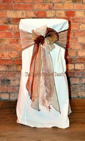 Triple Bow Of Chocolate Gold And Ivory Organza On An Ivory Chair ... Champagne Organza Chair Cover Hood Back Cap For Wedding Curly Willow Chiavari Back Slip Red Cv Linens Fuschia Pink Bows On White Covers Chairbows Acrylic Slipcover Etsy 10pcs White Lycra Band Curly Willow Organza Sashes Wedding Chair Ties Of Spandex Chairs Orange Sash Alternating Black And Perbdingan Harga Wa 10pcs Mix Whosale Lanns 10 Elegant Weddingparty Amazoncom 20pcs Taffeta