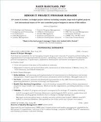 Construction Project Manager Resume Examples From Template