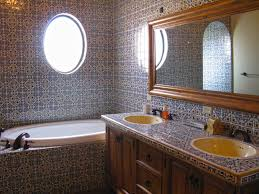 Nice Looking Mexican Tile Bathroom Designs 11 View In Gallery ... Nice Bathrooms Home Decor Interior Design And Color Ideas Of Modern Bathroom For Small Spaces About Inside Designs City Chef Sets Makeover Simple Nice Bathroom Design Love How The Designer Has Used Apartment New 40 Graceful Tiny Brown Paint Dark Tile Cream Inspiration Restaurant 4 Office Restroom Luxury Tub Shower Beautiful Remodel Wonderous Linoleum Refer To Focus Cool Inspirational On Traditional Gorgeousnations