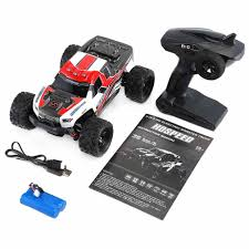 100 Monster Truck Remote Control RC Car 24G 118 Car Toys Ler Model OffRoad Vehicle 15KMH Radio Car Toy Cars