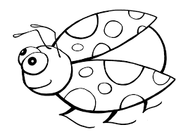 Image Of Ladybug Coloring Pages For Preschoolers
