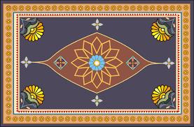 Neo Persian Empire Carpet Design