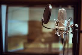Shop Professional Studio Microphone Wallpaper In Music Theme