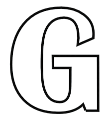 Printable Coloring Pages Alphabet Letter G