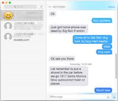 Change the font size in OS X Messages