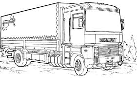 Semi Truck Car Transporter Coloring Pages Best Place To Color