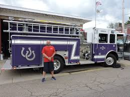 100 Pumper Trucks Martins Ferrys Purple Is Now In Service News Sports Jobs