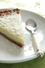 key lime pie végétale à l avocat noix de coco la table verte