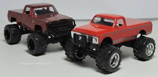 A Bunch Of Red Chevy Trucks: Jada Toys 1955 Stepside, 1972 Cheyenne ...