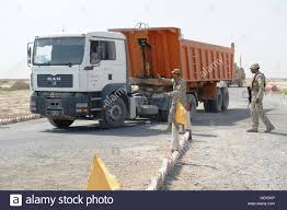 Iraqi Forces Prepare To Search A Truck At An Iraqi Army And Iraqi ...