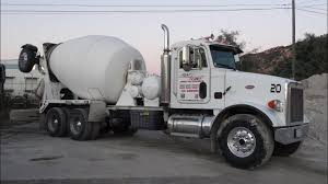 100 Concrete Truck Delivery Cement Mixer S Rear Chute Video Review