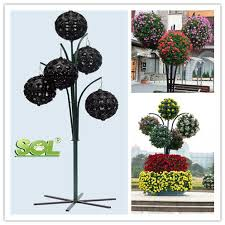 Small Plastic Pots For Expo Landscaping DecorationFlower