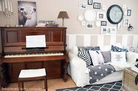 gemütliches wohnzimmer black white bellas herzenssachen