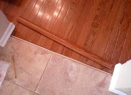 stunning floor transition ideas wood floor to tile transition