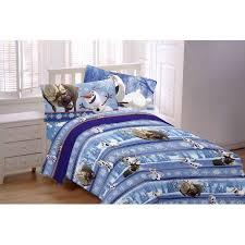disney s frozen olaf 3 piece flannel sheet set walmart com