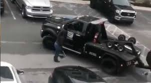 100 Repo Tow Truck Gone Wrong This Woman Came Out Swinging Literally With A