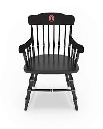 The Ohio State University − Affinity Traditional Captain's Chair (ATCC)  Block