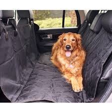 Amazon.com : BarksBar Pet Car Seat Cover With Seat Anchors For Cars ...