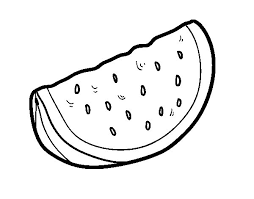 Watermelon Coloring Pages 6