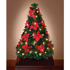 4 Ft Pre Lit Christmas Tree by Decorating Wonderful Tabletop Christmas Tree For Chic Christmas