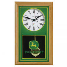 John Deere Bedroom Decor by John Deere Oak Wall Clock Rungreen Com