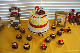 Curious George Birthday Party Cake Cupcakes