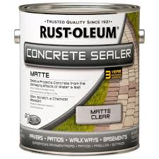 Seal Krete Floor Tex Home Depot by Rust Oleum 1 Gal Concrete Low Lustre Sealer Case Of 2 260432