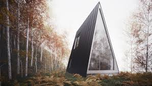 100 Minimalist Cabins An Ultra Cabin Takes AFrames To The Limit Want To Go