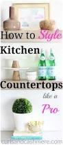 Kitchen Countertop Decorative Accessories by Best 20 Kitchen Countertop Decor Ideas On Pinterest Countertop