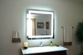 wall mounted lighted makeup mirror bronze home depot reviews