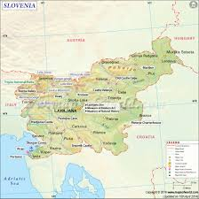 100 Where Is Slovenia Located Map