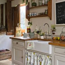 Small French Country Kitchens Rustic