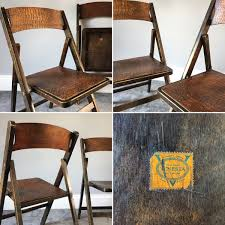 Vintage Antique Folding Chairs By Venesta In IG6 Redbridge ...