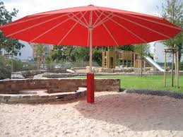 Large Fim Cantilever Patio Umbrella by Giant Patio Umbrellas Outdoor Finishing Aphrodite Cantilever Patio