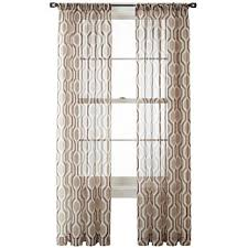 Jcpenney Sheer Grommet Curtains by Clearance Sheer Curtains For Window Jcpenney