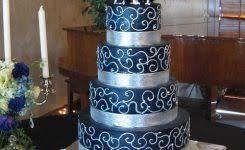 Blue And Silver Wedding Cakes Pics Best 25 Ideas Big