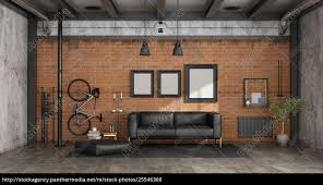 royalty free photo 25546360 living room in a loft