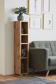 newroom standregal regal honig eiche dekor holzregal raumteiler bücherregal wohnzimmer modern arbeitszimmer flur kaufen otto