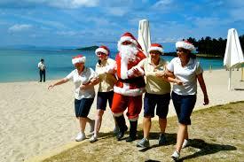 why do australians celebrate christmas in july abc radio australia