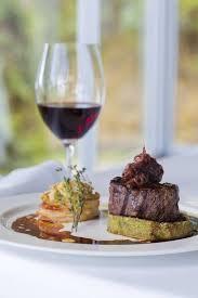 cuisine au about restaurant chris s beacon point restaurant villas