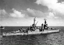 Sinking Ship Indianapolis Facebook by Uss Indianapolis Is Found After 72 Years On The Sea Bed Wreck Of
