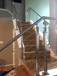 Typical To Extraordinary: Cable Railing Staircase - AGSstainless.com Stainless Steel Cable Railing Systems Types Stairs And Decks With Wire Cable Railings Railing Is A Deco Steel Guardrail Deck Settings And Stalling Post Fascia Mount Terminal For Balconies Decorations Diy Indoor In Mill Valley California Keuka Stair Ideas Best 25 Ideas On Pinterest Stair Alinum Direct Square Stainless Posts Handrail 65 Best Stairways Images Staircase