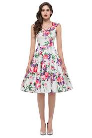 Floral Vintage Cocktail Dresses 15 Easter Outfits For Girls Women 2016