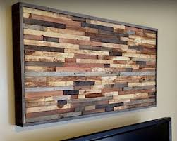 Best 25 Reclaimed Wood Wall Art Ideas On Pinterest