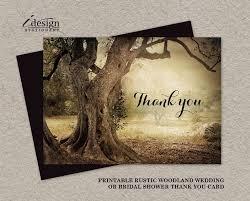 69 Best Wedding Thank You Cards Images On Pinterest Bachelorette Rustic Bridal Shower