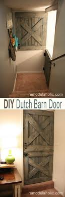 DIY Barn Door Ideas To Make Your Home Gorgeous • DIY Home Decor Diy Bottom Dutch Door Barn Odworking Dutch Doors Exterior Asusparapc Barn Door Tags Design Gel Stain Garage Large With Hdware Available From Pros Baby Gate The Salted Home How To Make A Interior Hgtv 111 Best Images On Pinterest Children And New England Accsories Exterior For Opening Latest Stair Design Front Rustic Series Mahogany Solid Wood Horse Stall Grills Doors To Build