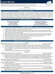 Sample Resume For General Manager Management Template