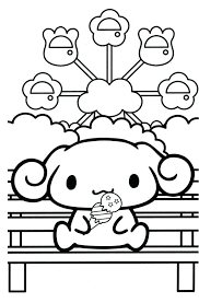 Kawaii Coloring Pages Small On Funny Animals Page Cute Dog