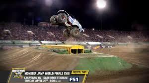 100 Monster Truck World Finals Jam XVIII Freestyle Pt 2 Sunday April 23