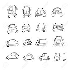 100 Vans Cars And Trucks Cartoon Drawing Royalty Free Cliparts Vectors